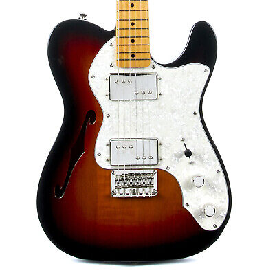 Fender Squier Classic Vibe '70s Telecaster Thinline Maple - 3 Tone (Semi Hollow 3 Tone Sunburst)