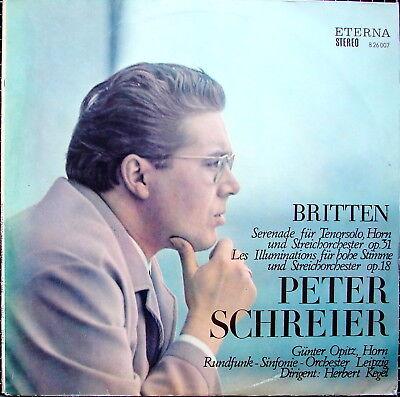 BRITTEN Serenade für Tenorsolo, Horn und Streicher - SCHREIER OPITZ - KEGEL
