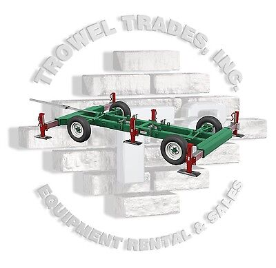 Hydro Mobile F Series Mobile Chassis E Series Chassis Mast Climber Wheel Kit