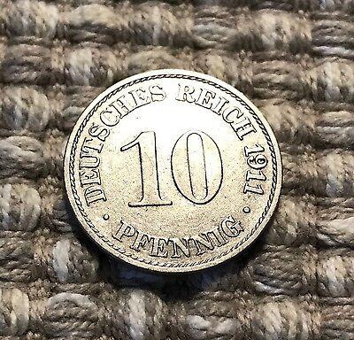 10 Pfennig von 1911 A / Deutsches Reich