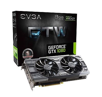 Evga Geforce Gtx 1080 8Gb Ftw Dt Gaming Video Card With Acx 3 0 Cooling
