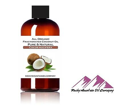 100% PREMIUM ORGANIC FRACTIONATED COCONUT OIL COLD PRESSED M