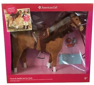 """American Girl Horse and Saddle Set for American Girl dolls 18"""""""