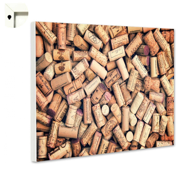 Magnettafel Pinnwand mit Motiv Küche Essen & Trinken Rotwein