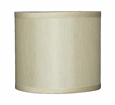 """Urbanest Faux Silk Drum Lampshade, 8"""" x 8 inch x 7"""", Spider"""