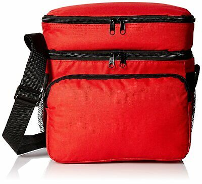 """10"""" Lunch Bag Box & Cooler in One, Beer Soft Drink Water Cooler Insulated Pocket"""