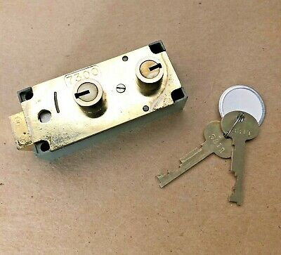 Lefebure 7300 Safe Deposit Box Lock Wkeys