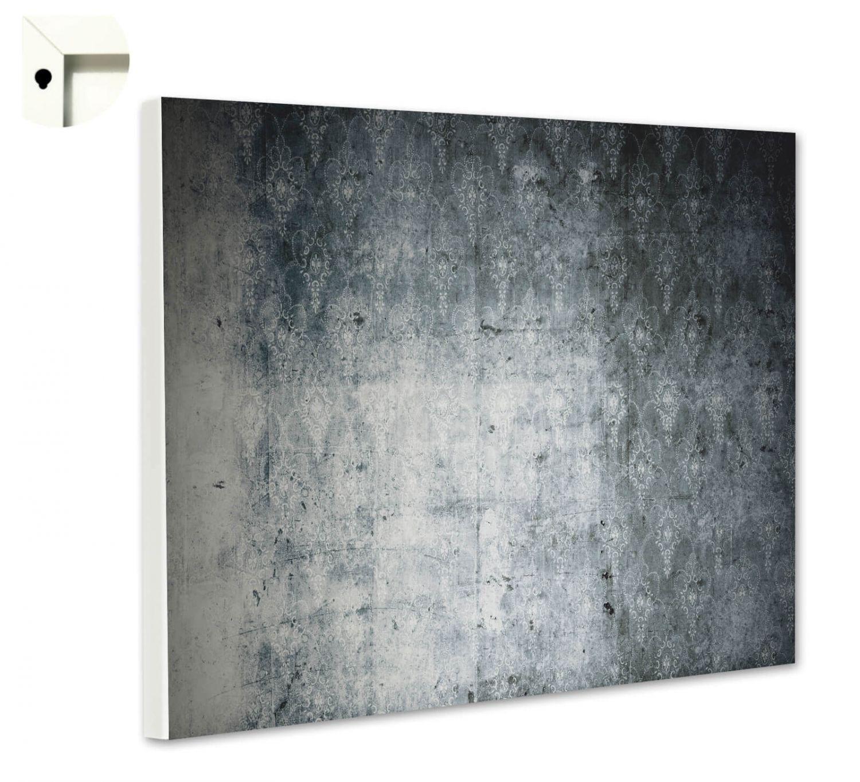 Magnettafel Pinnwand Motiv Muster Schiefer schwarz Gr/ö/ße 60 x 40 cm