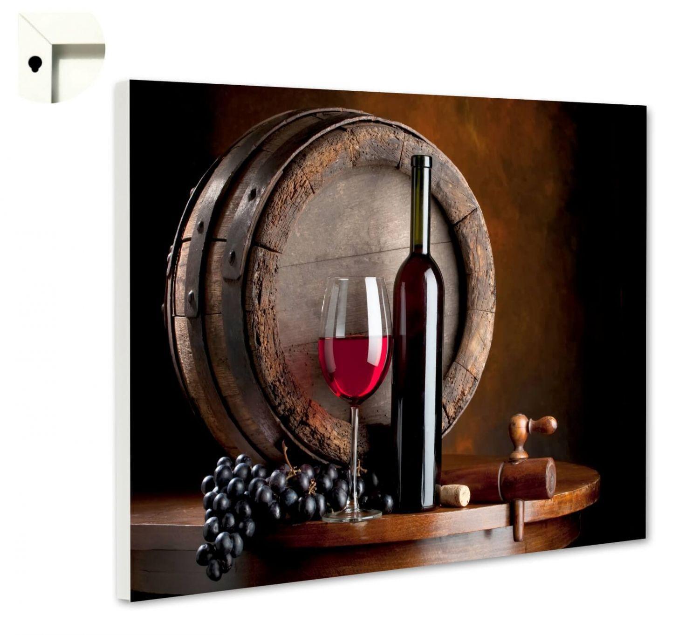 magnettafel pinnwand mit motiv k che rotwein fass ebay. Black Bedroom Furniture Sets. Home Design Ideas