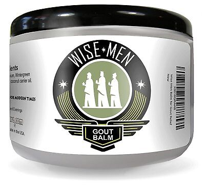 Wise Men Therapeutic Gout Balm   Essential Oil Cream For Pain Relief