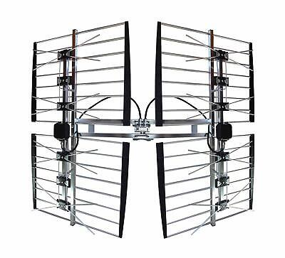 Focus Antennas 8 Bay Multi directional Ultimate Signal UHF Outdoor TV Antenna