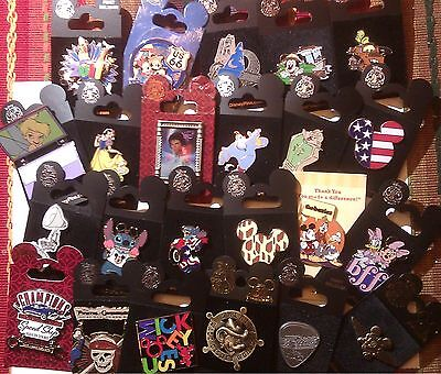 NEW PIN ON CARD - 50 Disney Trading Pins (100,200)lots - US Seller 3d (49+1)) on Rummage
