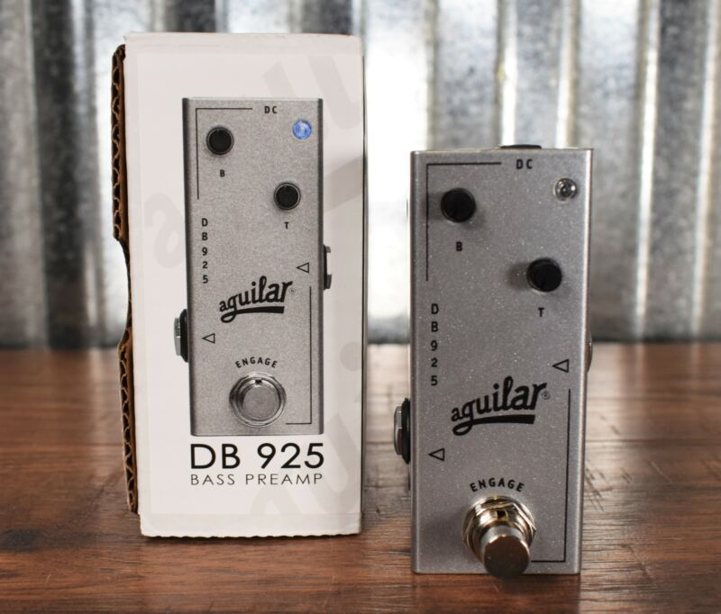 Aguilar DB 925 Bass Preamp Effect Pedal