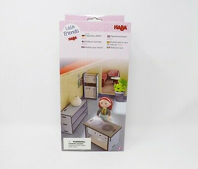 Haba Little Friends Dollhouse Furniture Set - New - -