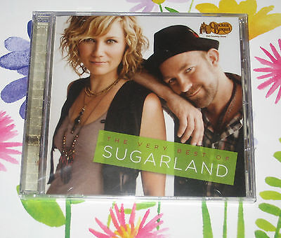 The Very Best Of SUGARLAND CD - 12 HIT SONGS -  New & Sealed