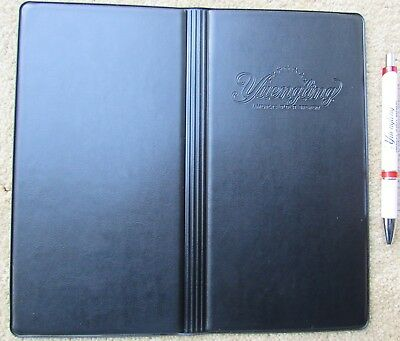 Yuengling Beer Pen Server Book Wallet Waitress Check Money Credit Card Holder