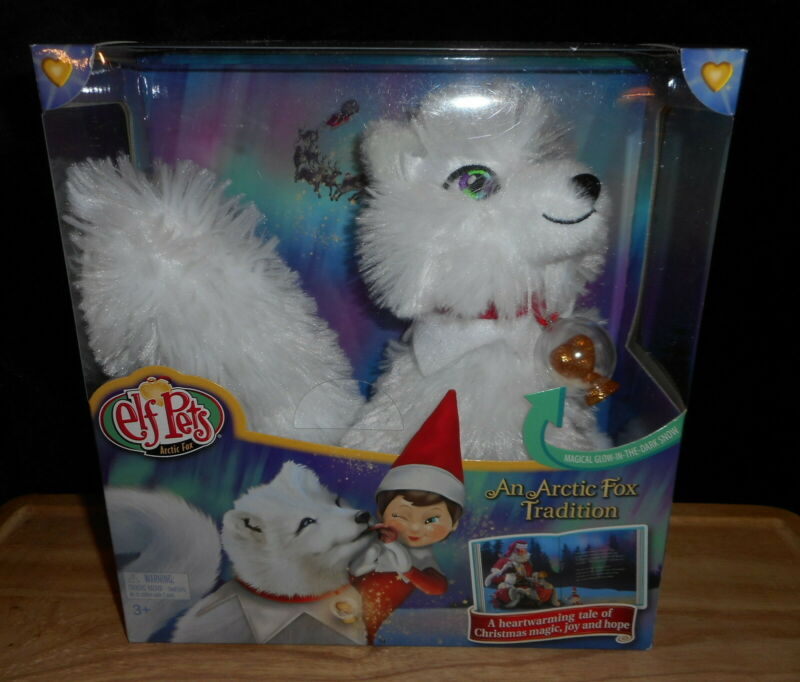 THE ELF ON THE SHELF ELF PETS ARTIC FOX PLUS STORYBOOK A ARTIC FOX TRADITION NEW