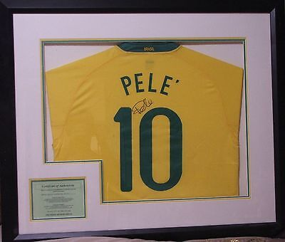 Would you pay £500 for a signed Pele shirt?