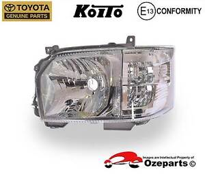 NEW GENUINE Toyota Hiace Low Roof 2013.12~On Left Head Light Dandenong Greater Dandenong Preview