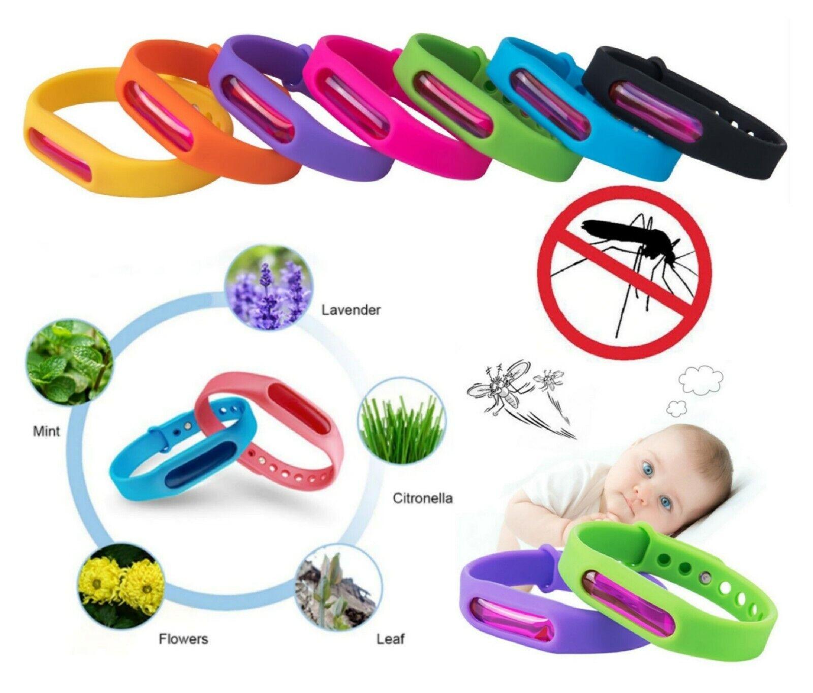 Mückenarmband Anti-Mücken Armband Moskito Mückenschutz Insektenschutz Viele Öle