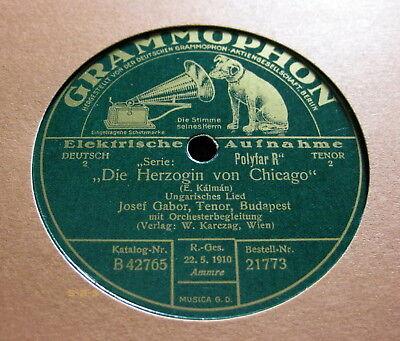"""Josef Gabor - Ungarisches Lied / Wiener Lied """"Die Herzogin von Chicago"""" E.Kalman"""