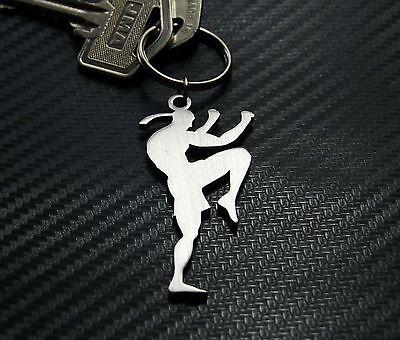 MUAY THAI BOXER Boxing Martial Art Combat Sport MMA Sport Keyring Keychain