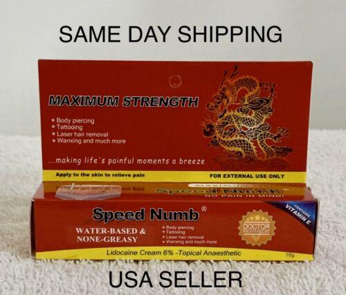 10g Tattoo Cream USA Seller! Same Day Shipping!!!! 1 Tube