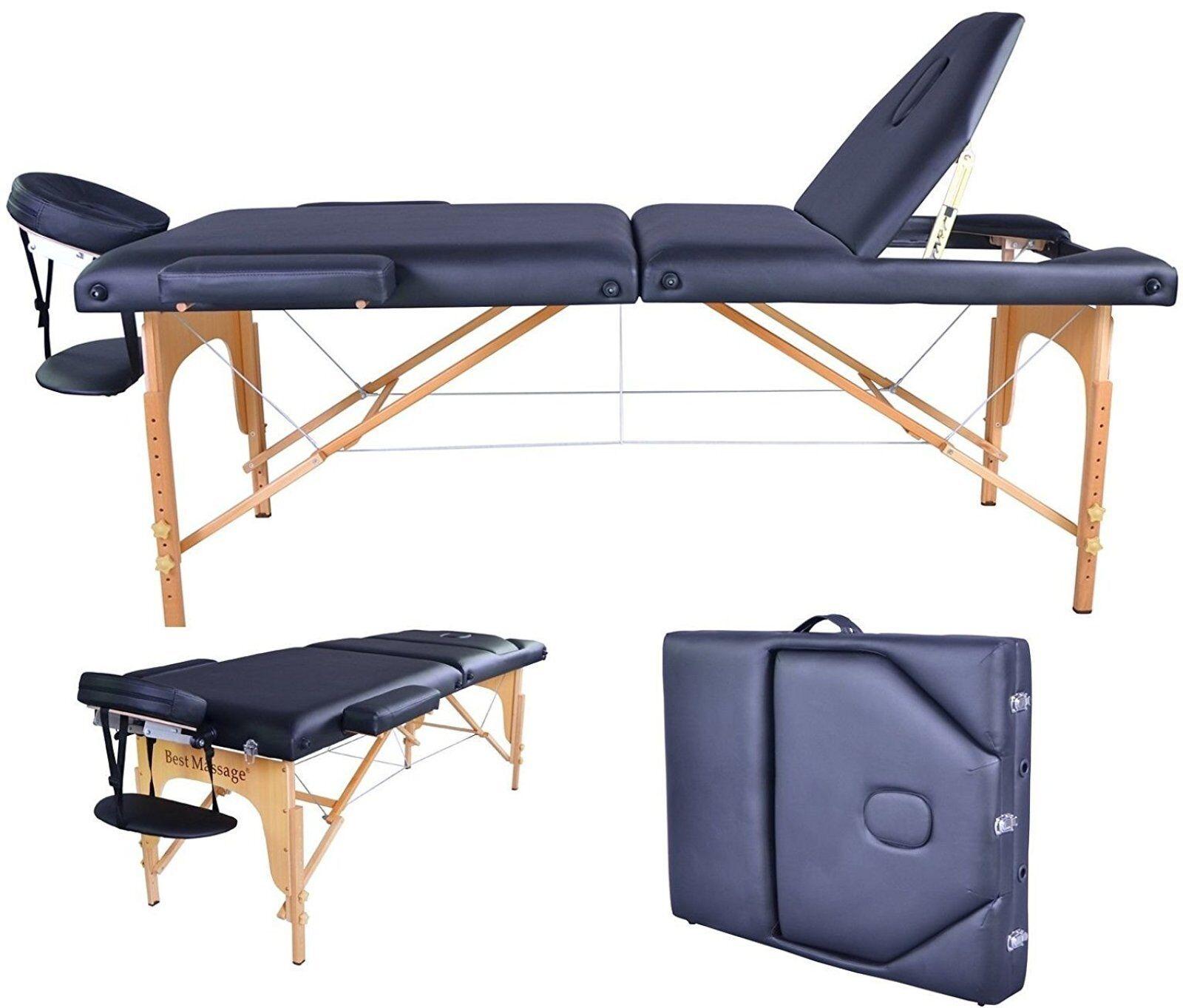 BestMassage Black Reiki Portable Massage Table, have the sam