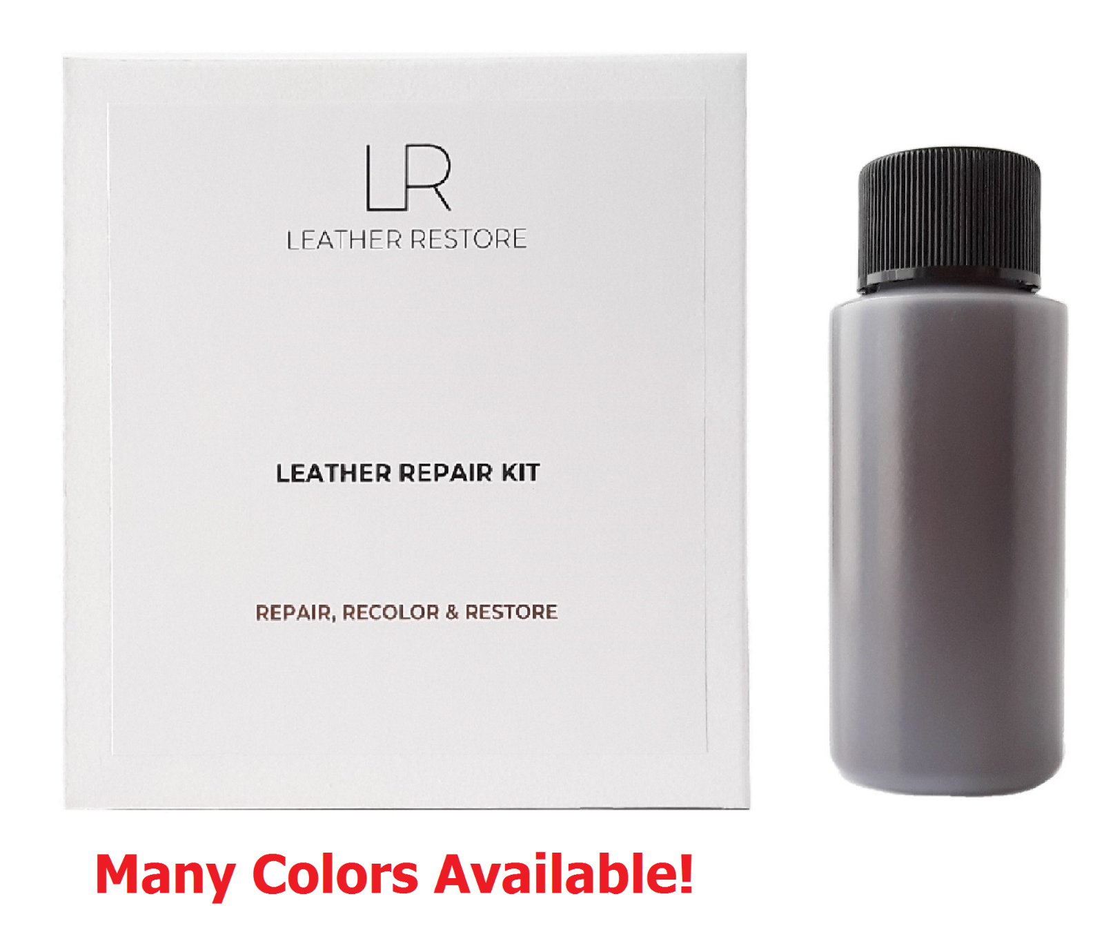 leather and vinyl repair kit and 1