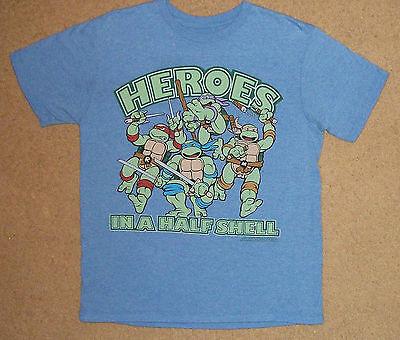 Teenage Mutant Ninja Turtles Heroes In A Half Shell Shirt Medium