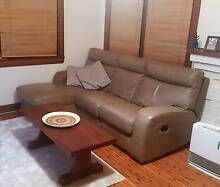 Leather Couch Recliner Mosman Mosman Area Preview