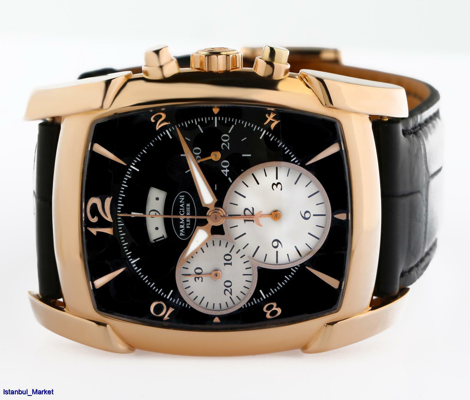 Parmigiani Fleurier Kalpagraph Ref# PFC128 18k Rose Gold Chronograph Wristwatch - watch picture 1