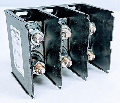 Marathon 1333601 600v 410a Power Distribution 12 Stud Block 3 Section