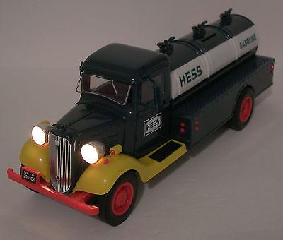 1985 Vintage-1st Hess Truck bank lights-MINT-Xmas gift-NIB-100% eBay rating