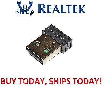 Genuine Realtek RTL8188 MINI USB WiFi Wireless 802.11B/G/N Card Network Adapter