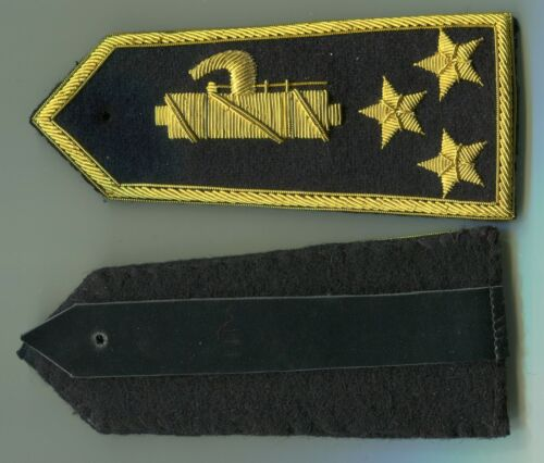 Italian Officers Colonel Rank Boards of the Black Shirts  1920