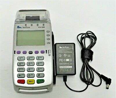 Verifone Vx520 Emv-nfcctls-msr Enabled Contactless Countertop Payment Terminal