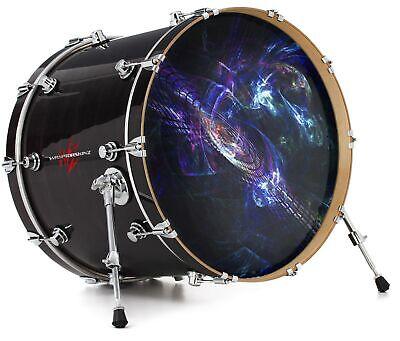 Custom Aquarian 22 Bass Kick Drum Head Front Drumskin City New York