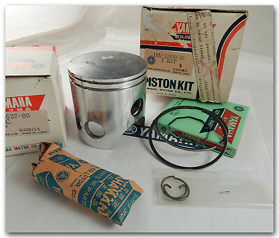 <em>YAMAHA</em> 1977 1978 DT250 75MM  3RD OVERSIZE PISTON KIT W RINGS PIN