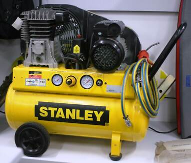 Stanley Air Compressor Belt Drive 2.5HP Nerang Gold Coast West Preview