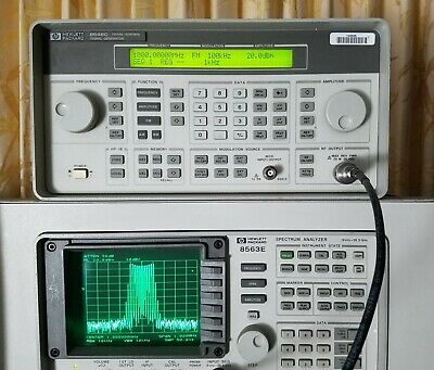 Hp Agilent 8648c Opt 1ea 3.2ghz Signal Generator - Tested