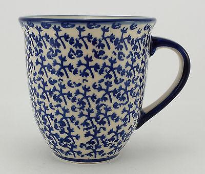 Bunzlauer Keramik Tasse MARS Maxi - Becher - blau/weiß - 0,43 Liter, (K106-P364) gebraucht kaufen  Versand nach Austria