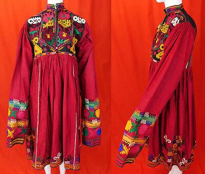 Afghan Nomad Boho Tribal Ethnic Banjara Unique dress 60s 70s Vintage Kuchi Dress Bekleidung