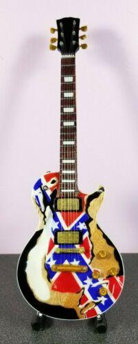 Black Label Society Zakk Wylde Miniature Tribute Guitar w/ Stand - BLACK LABEL6