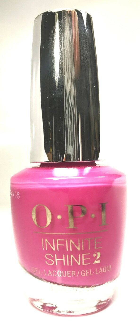 OPI Infinite Shine - No Turning Back From Pink Street #L19 | eBay