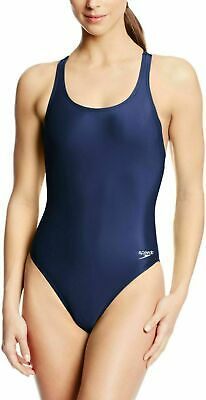 Speedo Women's Navy Blue YBack Super PRO LT One-Piece Competition Swimsuit (Women's Competition Swimwear)