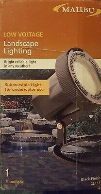 2 Malibu Submersible Lights Low Voltage Landscape Lighting CL115 Floodlight