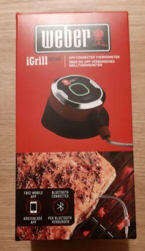 Weber iGrill Mini 7220 Bluetooth Thermometer für Smartphones Gasgrill Kohlegrill