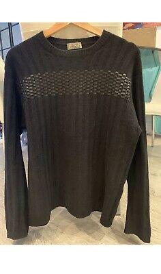 Versace Black Jumper - Medium