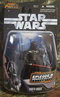 Star Wars ROTS Figure Episode 3 Darth Vader Figure Episode 3 Heroes/ Villains CO](Darth Vader Episode 3)